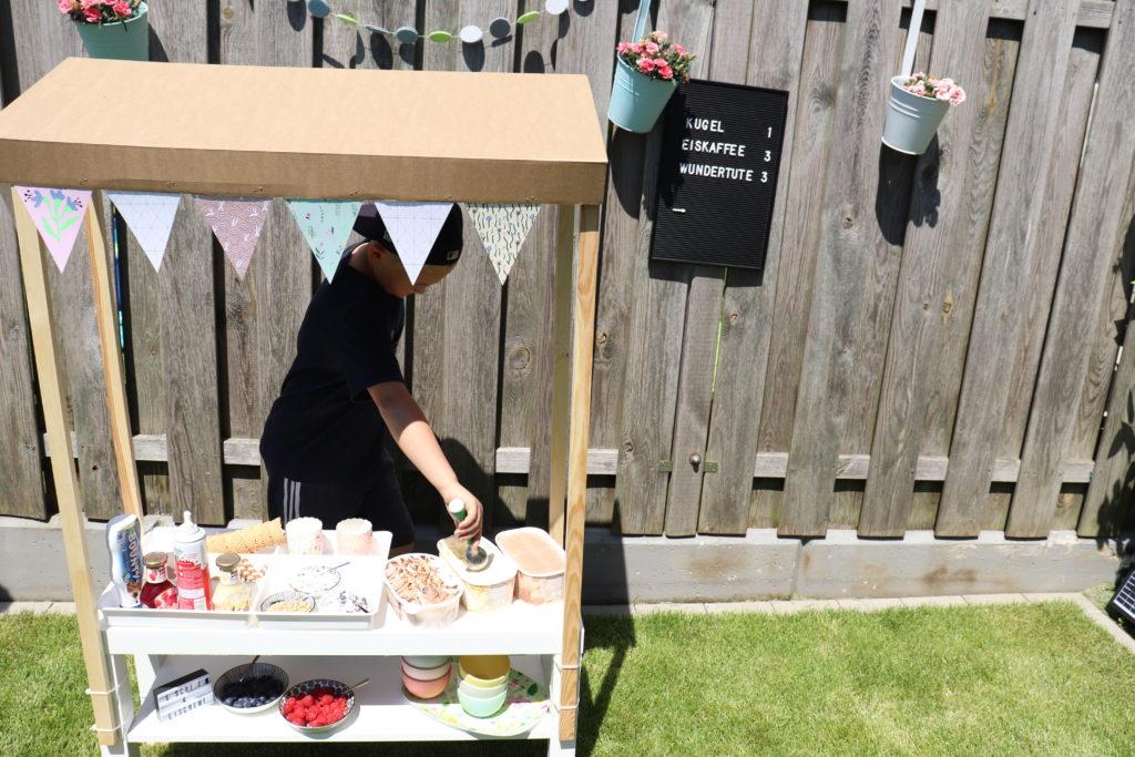 DIY Eiscafé Garten