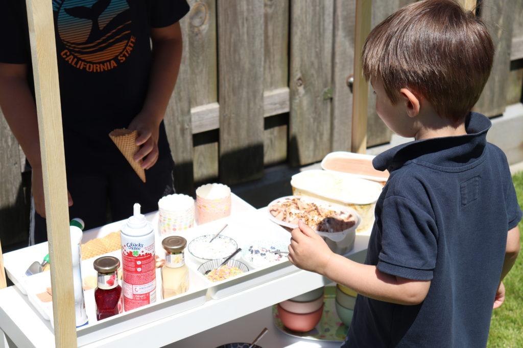 DIY Eiscafé Garten Kinder 2