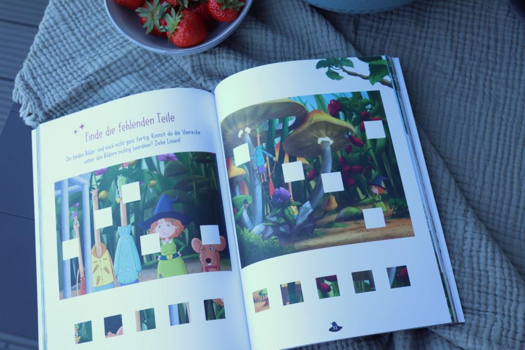 Rätsel Petronella Apfelmus Ferienbuch Rezepte Packliste
