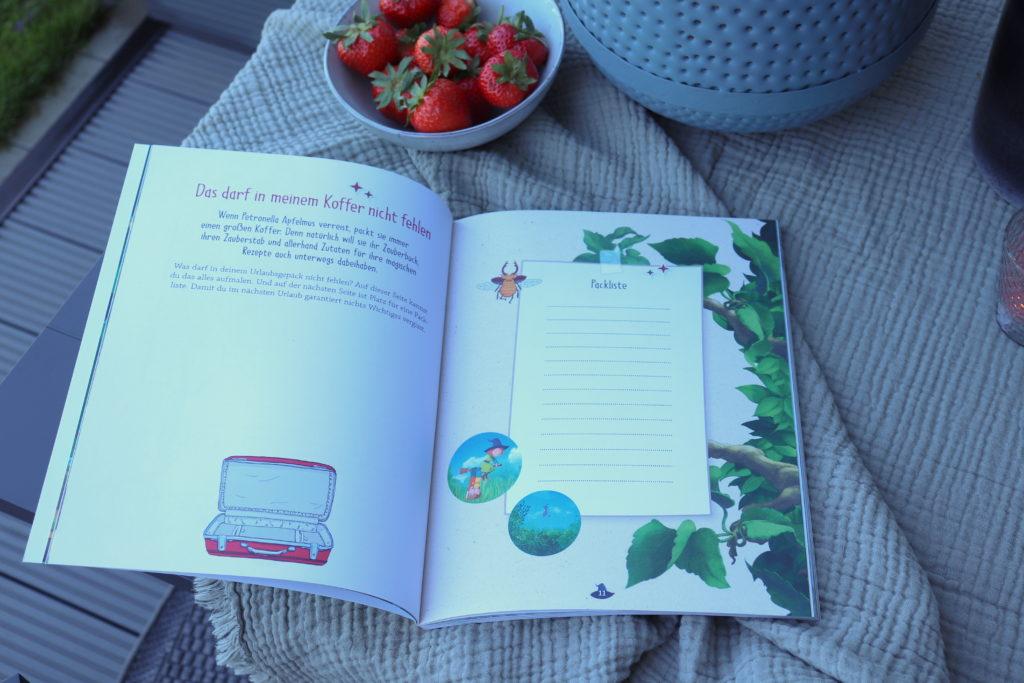 Petronella Apfelmus Ferienbuch Rezepte Packliste