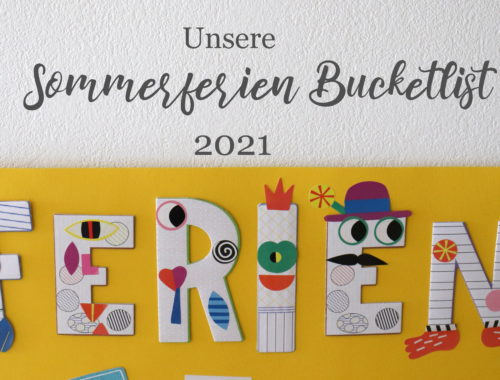 Sommer Bucketlist 2021