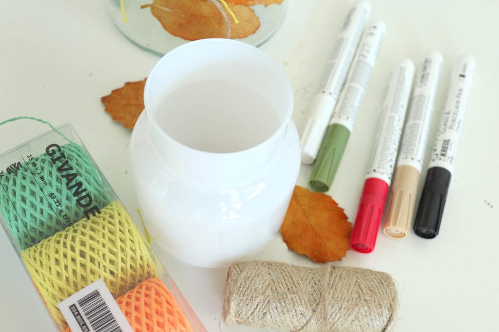 Material DIY Blumenknnen IKEA Hack