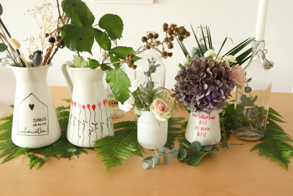 DIY Blumenkannen IKEA HAck Geschenkidee
