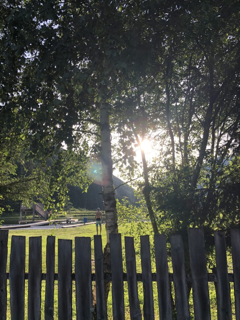 Sonnenuntergang Oesterreich