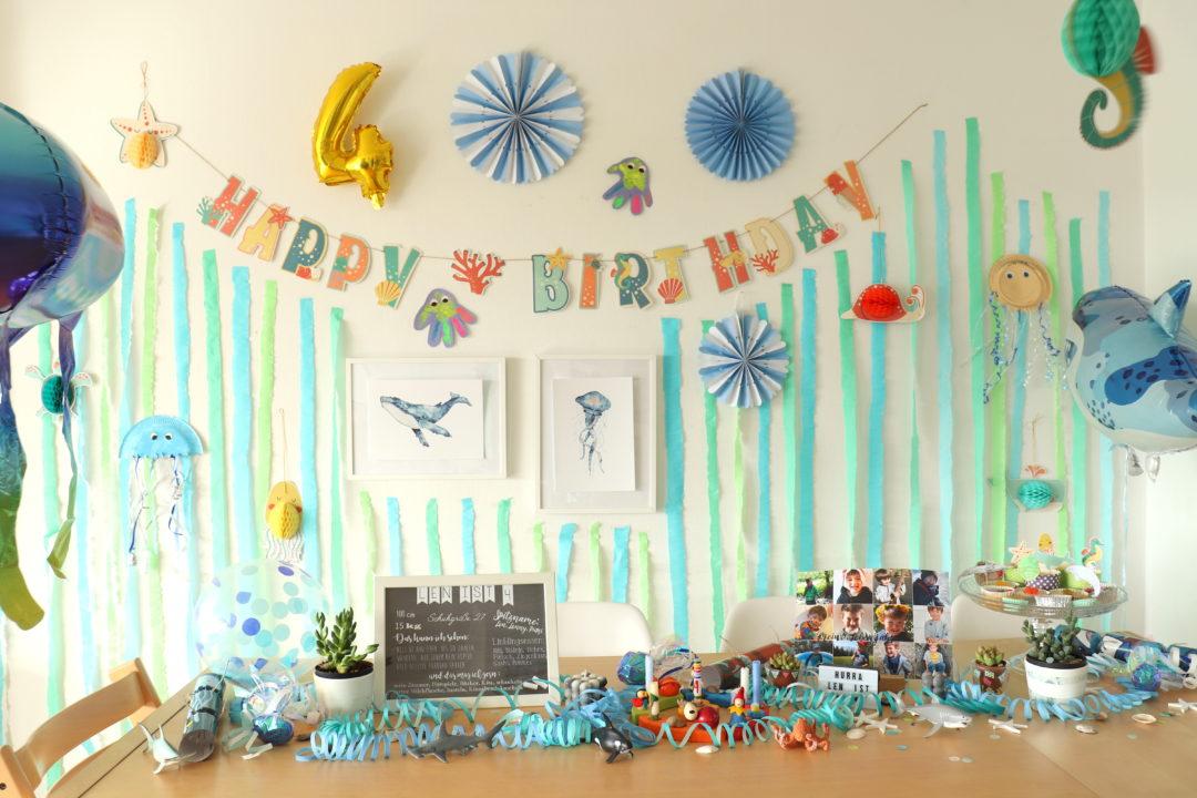 Unterwasser Geburtstag