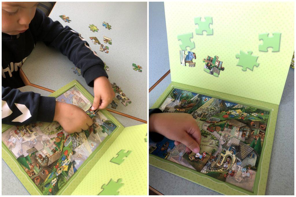 Puzzle Berge